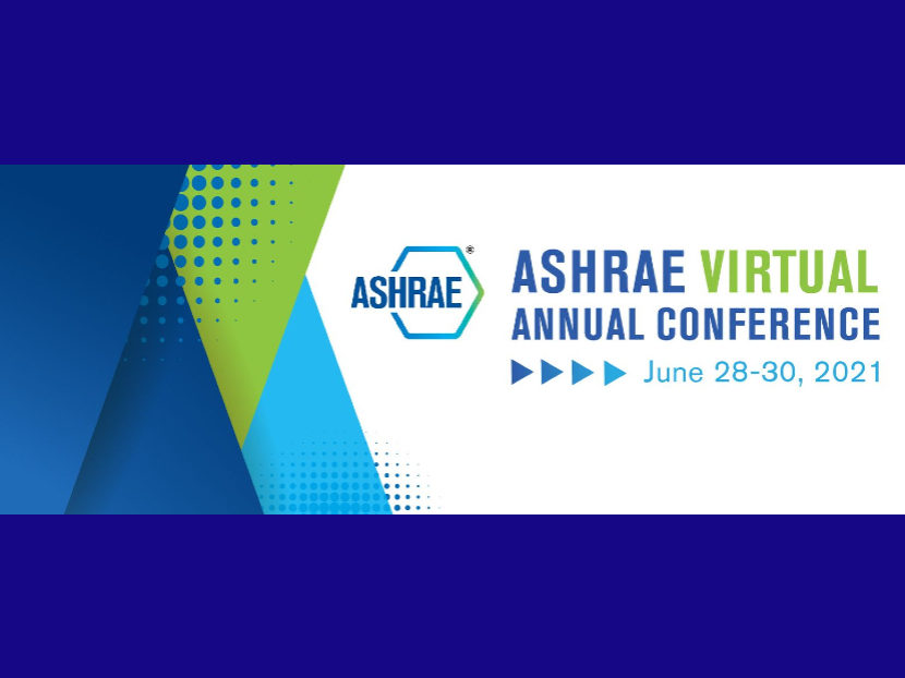 Technical Program Now Available for 2021 ASHRAE Virtual Annual Conference