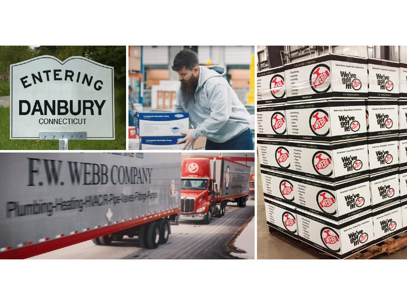 F.W. Webb Company Acquires Danbury Plumbing and HVAC Supply Co.