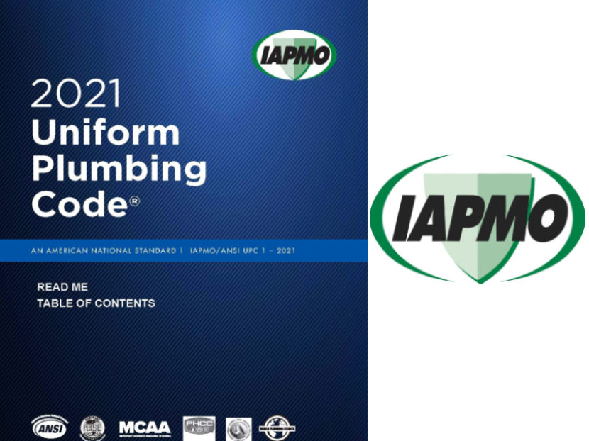 IAPMO Standards Council Issues TIA UPC 002-21