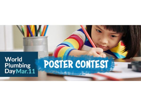 IWSH Sponsors Poster Contest for 12th Annual World Plumbing Day