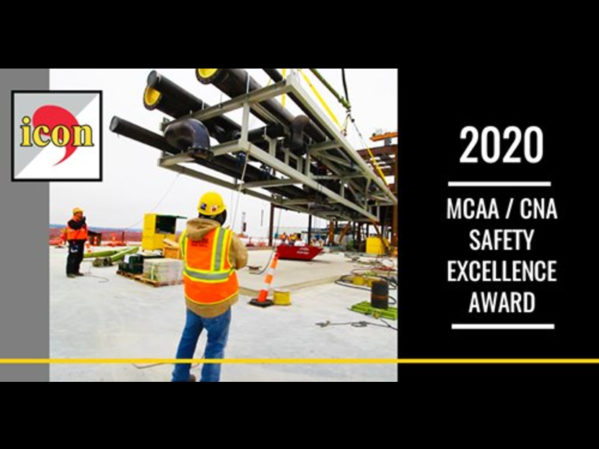 MCAA and CNA Insurance Honor icon Mechanical with Top Safety Award 2