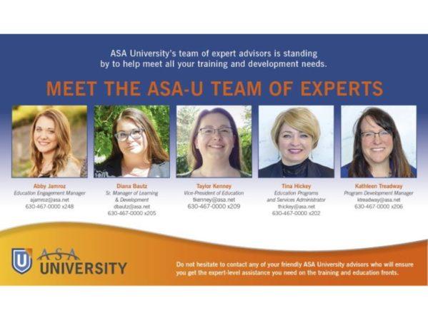 Meet the ASA-U Team of Experts