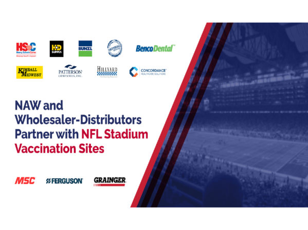 NAW and Wholesaler-Distributors Partner with NFL Stadium Vaccination Sites