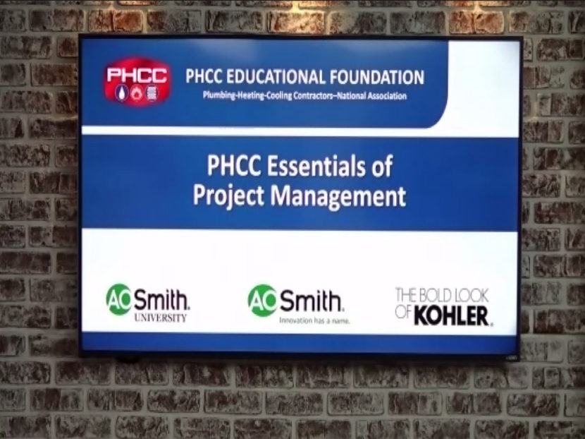 PHCC Project Management Class Successful