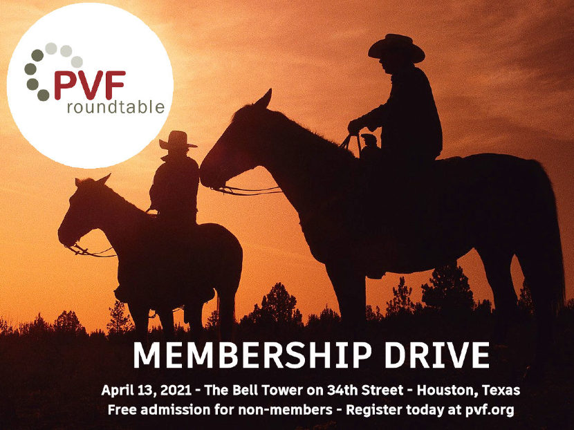 PVF Roundtable Announces April Networking Meeting and Membership Drive