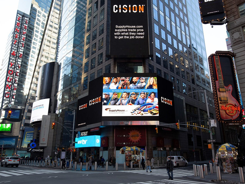 SupplyHouse.com Features TradeMasters in Time Square Billboard
