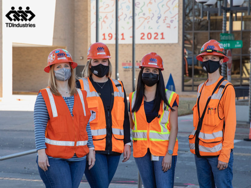 TDIndustries Celebrates International Women's Day and Women in Construction Week 2