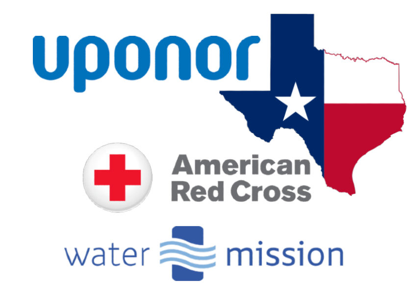 Uponor Donates $30K to Texas Relief Efforts