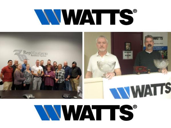 Watts Announces Winners of Key Sales Awards