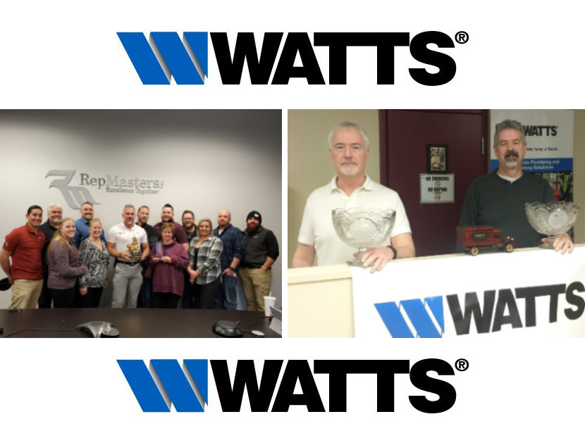 Watts Announces Winners of Key Sales Awards