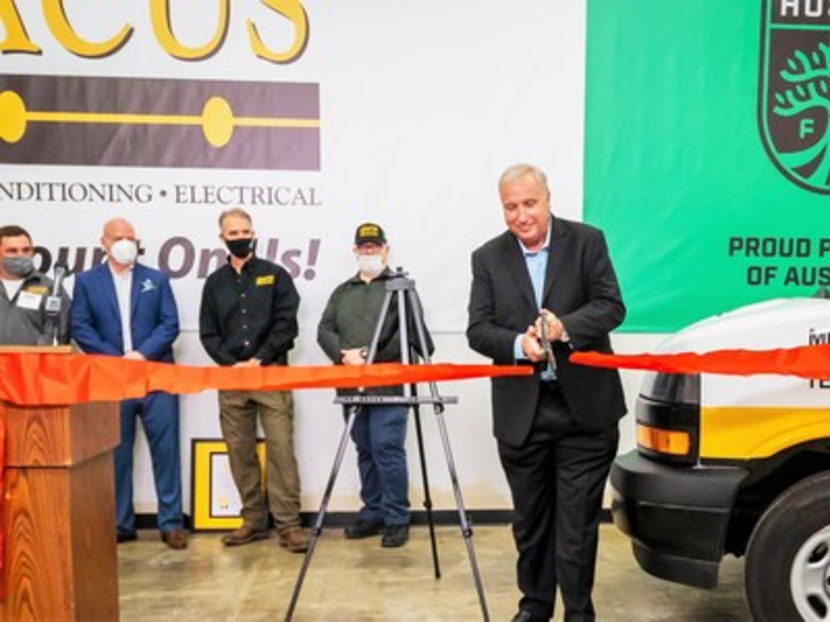 Abacus Plumbing, Air Conditioning & Electrical Hosts Grand Opening Celebration