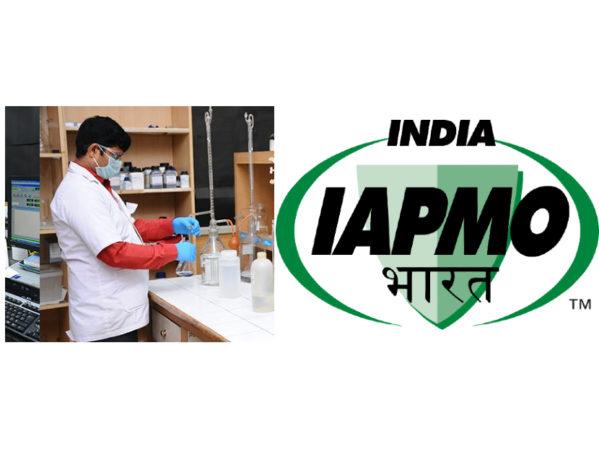 Amalgamation of Aquadiagnostics with IAPMO India Complete