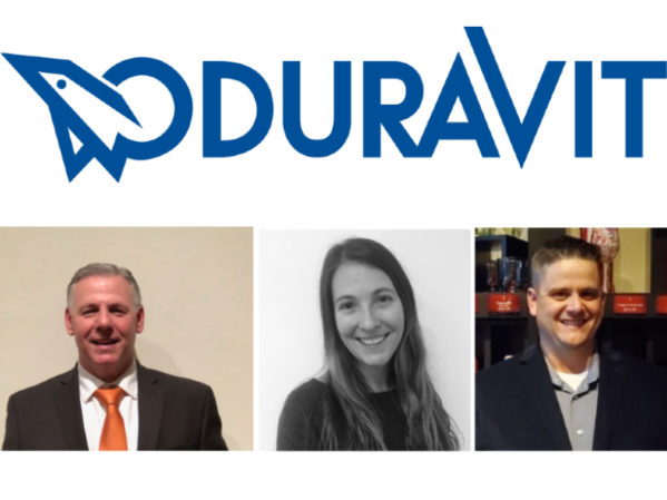 Duravit USA Realigns and Strengthens Business Development Department with Promotions of Galen Stump, Nina Allen and Bryan Huie