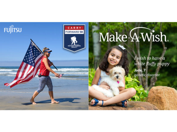 Fujitsu Supports Make-A-Wish and Wounded Warrior Project