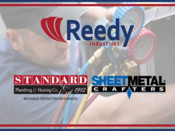Reedy Industries Acquires Standard Plumbing & Heating/Sheet Metal Crafters
