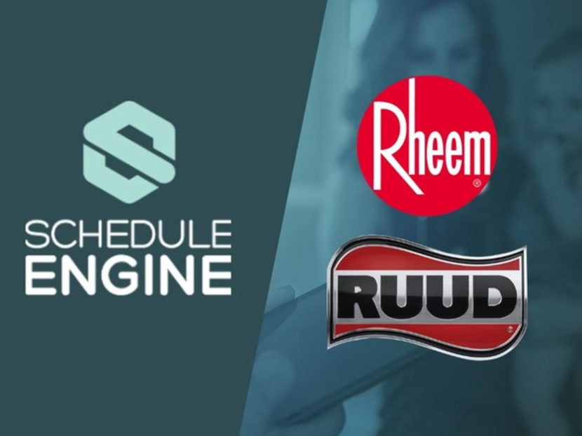 Schedule Engine Partners with Rheem and Ruud