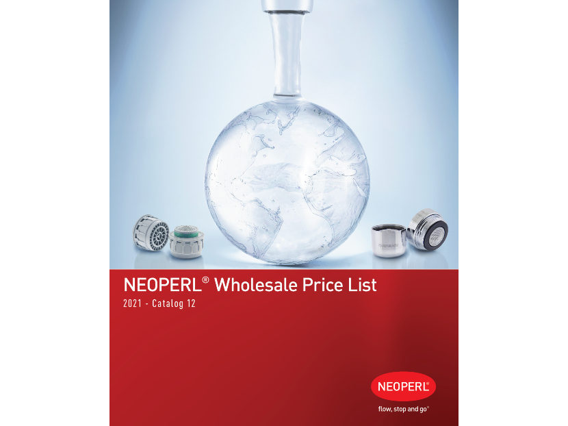 NEOPERL 2021 Price List Now Available