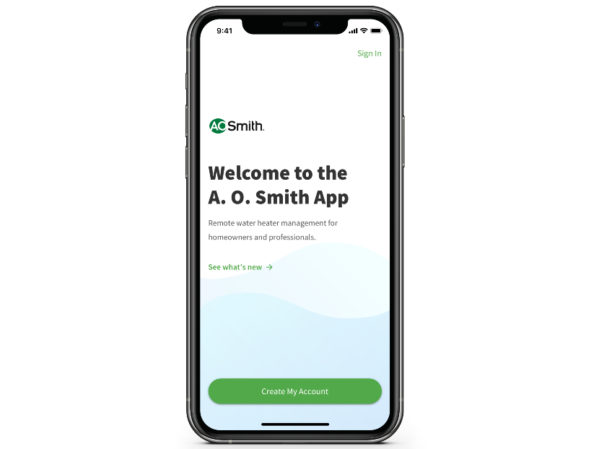 A.O. Smith Announces Upgrades to Mobile App 2