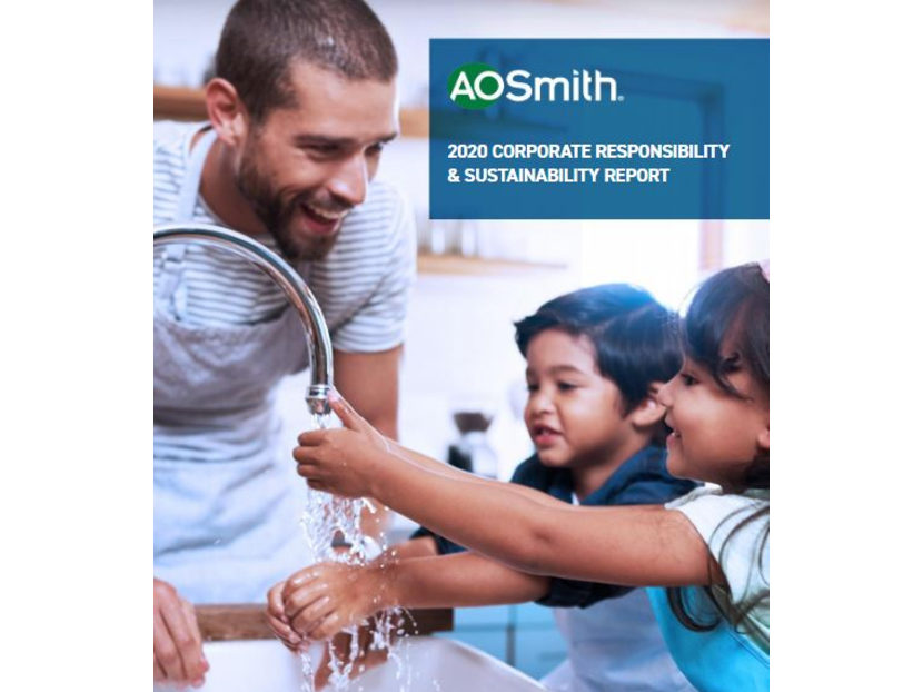 A.O. Smith Releases 2020 Corporate Responsibility and Sustainability Report