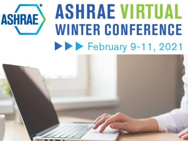 ASHRAE Virtual Winter Conference Offers Robust Technical Program