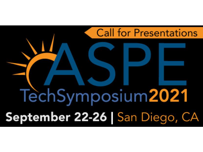 ASPE Opens Call for Presentations for 2021 Tech Symposium 2