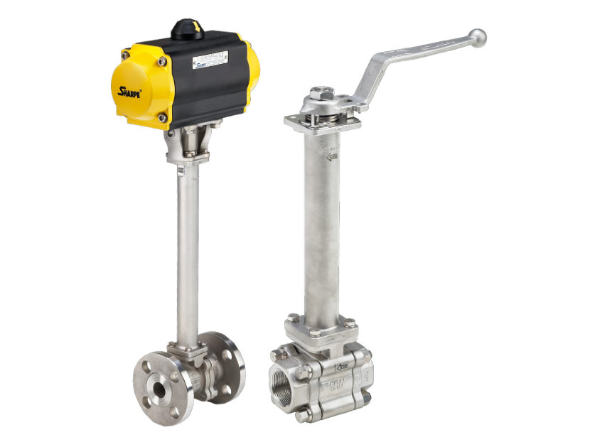 Anvil & Smith-Cooper Sharpe  Cryogenic Flanged and 3-Piece Ball Valves 22