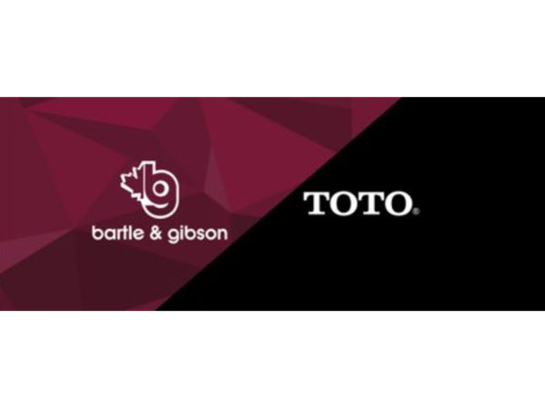 Bartle & Gibson Announces Partnership with TOTO 2