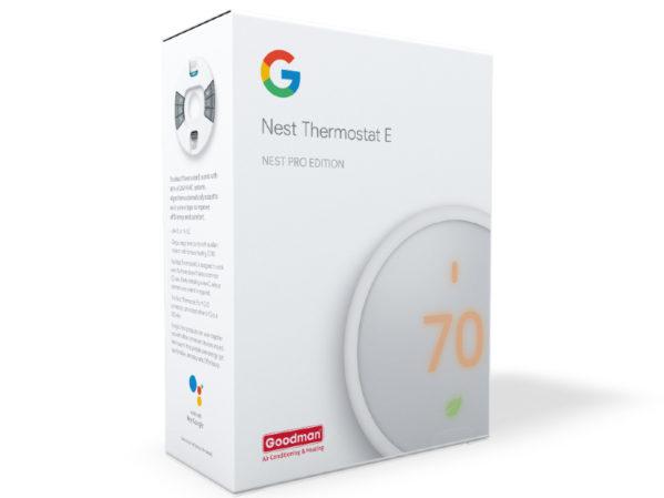 Goodman Launches Nest Thermostat E + Goodman 2