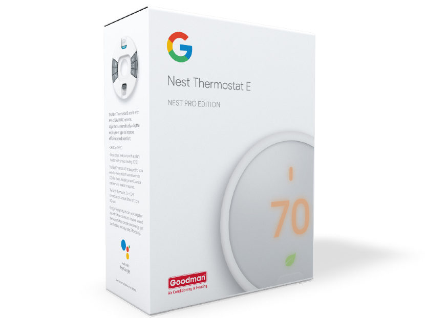Goodman Launches Nest Thermostat E + Goodman 2