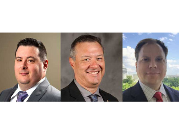 IAPMO Promotes Tony Marcello, D.J. Nunez and Christopher Lindsay 2