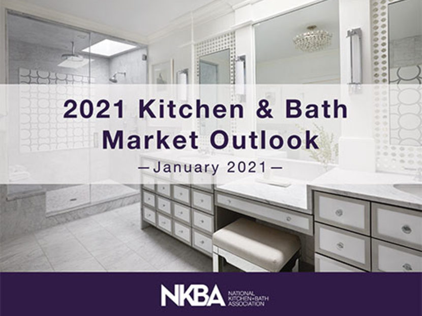 NKBA 2021 Market Outlook Report Predicts 16 Percent Growth in Residential Kitchen and Bath Remodeling