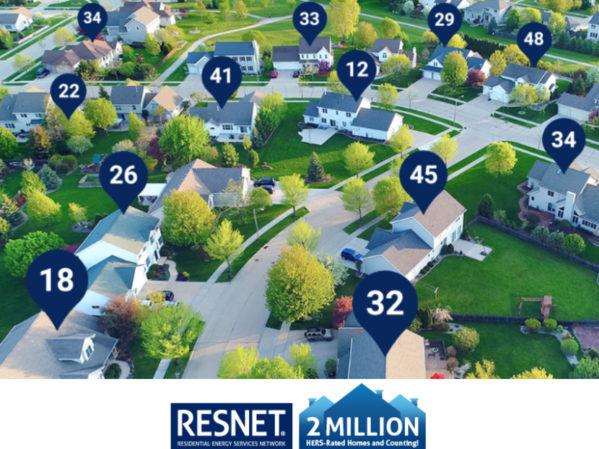 RESNET Announces Demand for HERS Ratings Grows 24 Percent in 2020