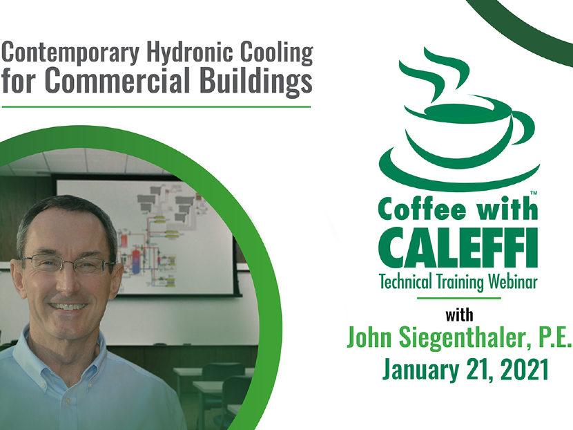 Siegenthaler Kicks off 12th Consecutive Year of the Coffee with Caleffi Webinar Series 2