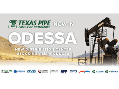 Texas pipe family of companies opens location in odessa texas 2