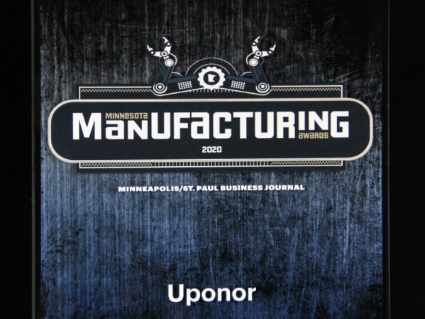 Uponor wins Minnesota Manufacturing Sustainability Award 2