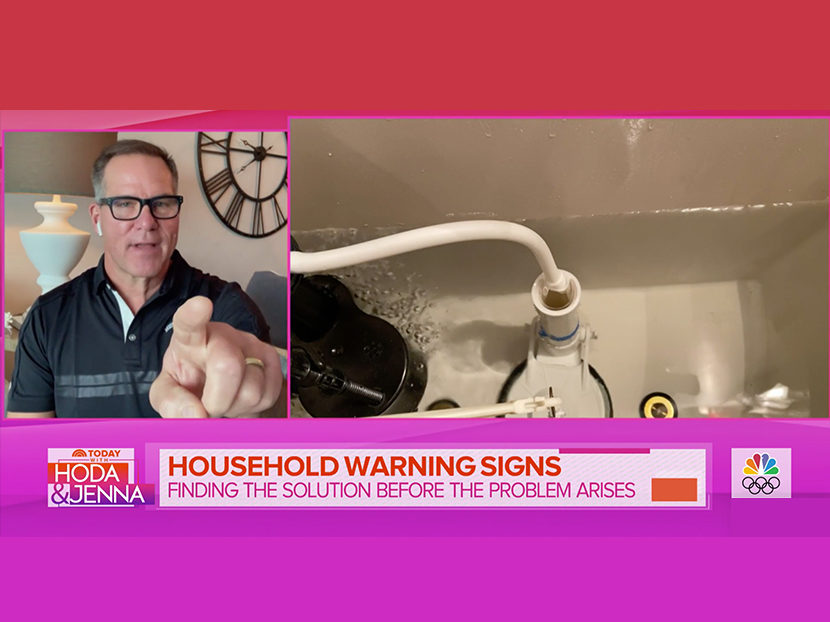 """Watch: """"HouseSmarts"""" Host Lou Manfredini Discusses Plumbing Warning Signs on Today Show"""