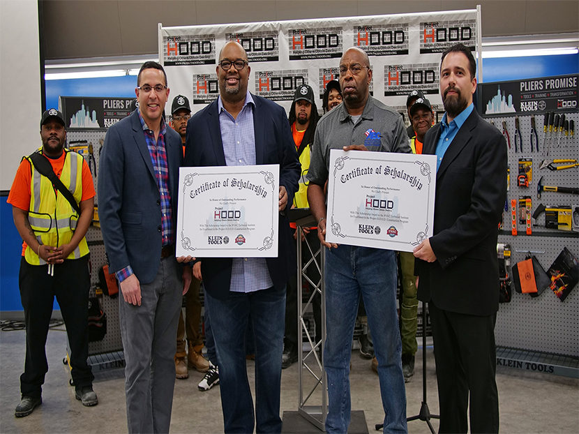 Klein Tools Partners with Project H.O.O.D. to Equip Students for Trade Jobs