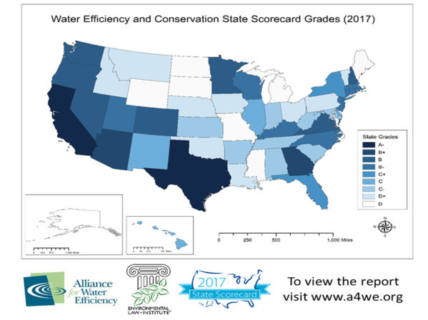 Report Gives States 'C' Average for Water Efficiency, Conservation