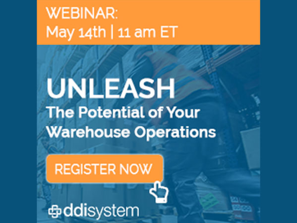 DDI System to Host Live Webinar on Warehouse Management Solutions 2
