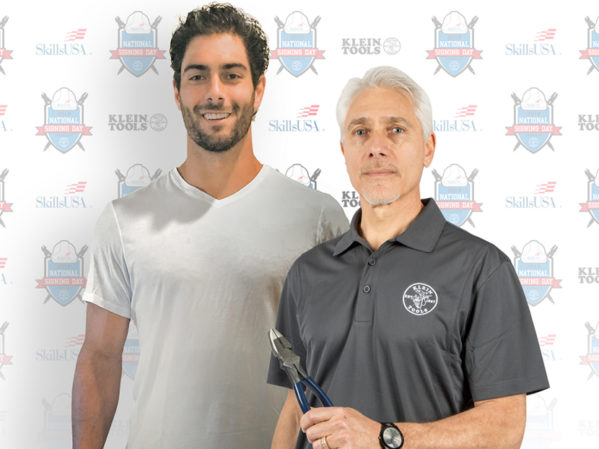 Jimmy Garoppolo to Participate in SkillsUSA National Signing Day Sponsored by Klein Tools