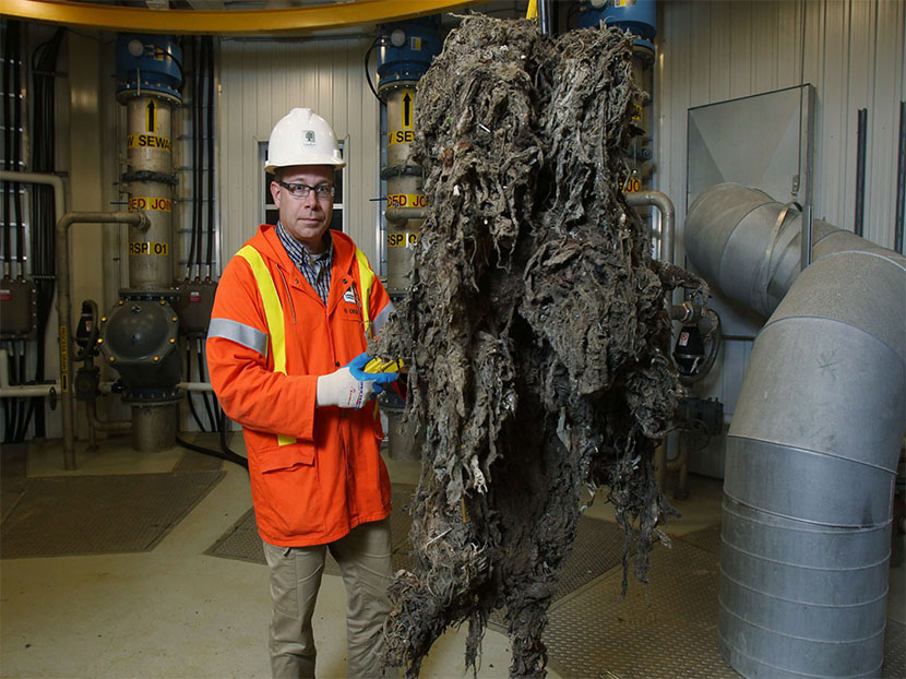 Study: Flushable Wipes Aren't Flushable