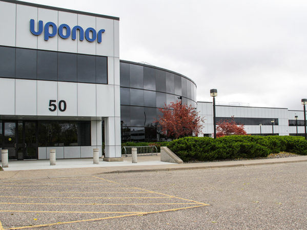 Uponor Wins Minnesota Real Estate Journal Award for Hutchinson Facility