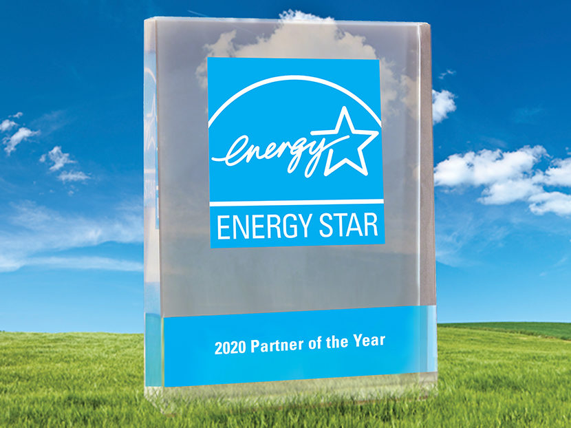 A. O. Smith Receives Second Consecutive ENERGY STAR Partner of the Year Award