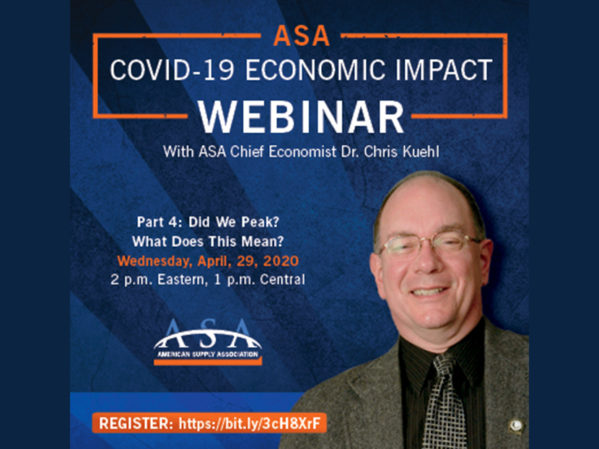 ASA Announces Fourth COVID-19 Economic Webinar 1