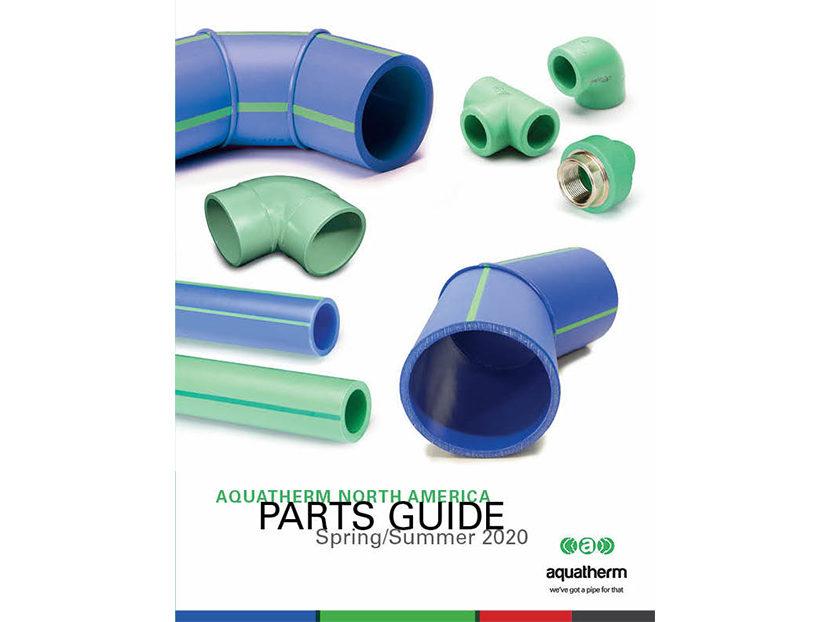 Aquatherm Announces Updated Parts Guide