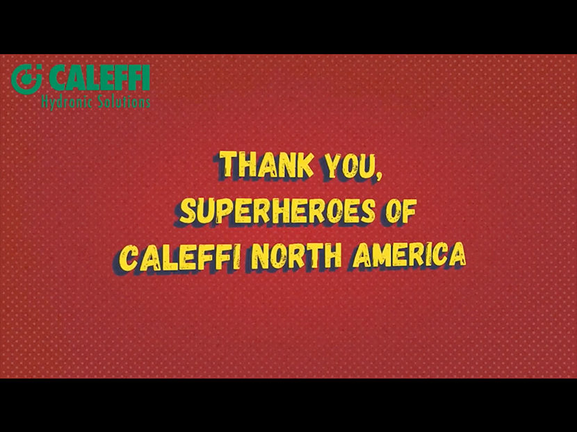 Caleffi Honors Warehouse Team for Rising to the Occasion During COVID-19 Pandemic