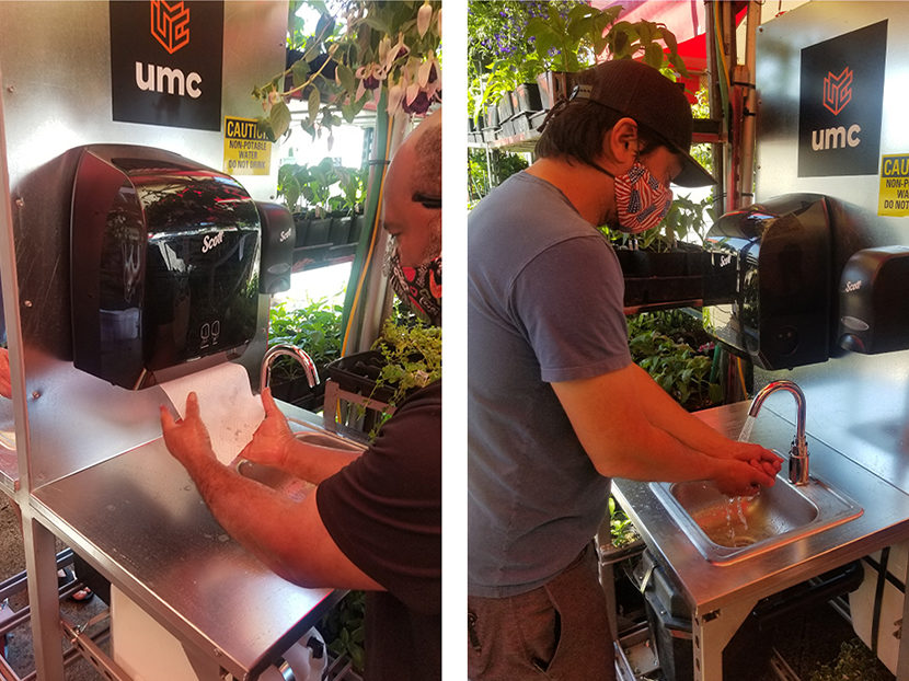 Grocery Store Keeps Customers and Employees Safe with UMC Handwashing Stations 1