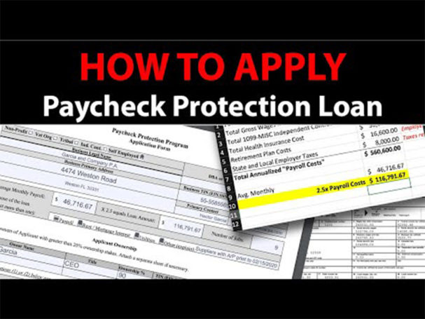 Todays the day to tap into the payroll protection plan
