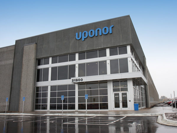 Uponor Distribution Center Now Powered 100 Percent by Wind Energy