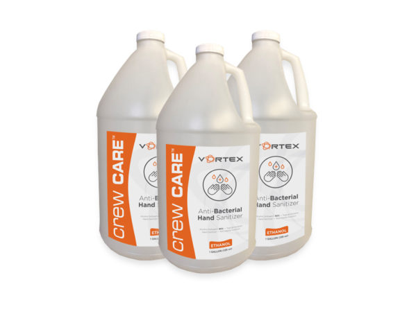 Vortex Companies Launches Crew Care Anti-Bacterial Hand Sanitizer During COVID-19 Pandemic